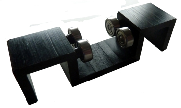 Additional Bearing pair for roller bench tests