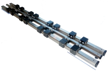 Stainless steel roller test bench Gauge H0, Gauge 1 and more